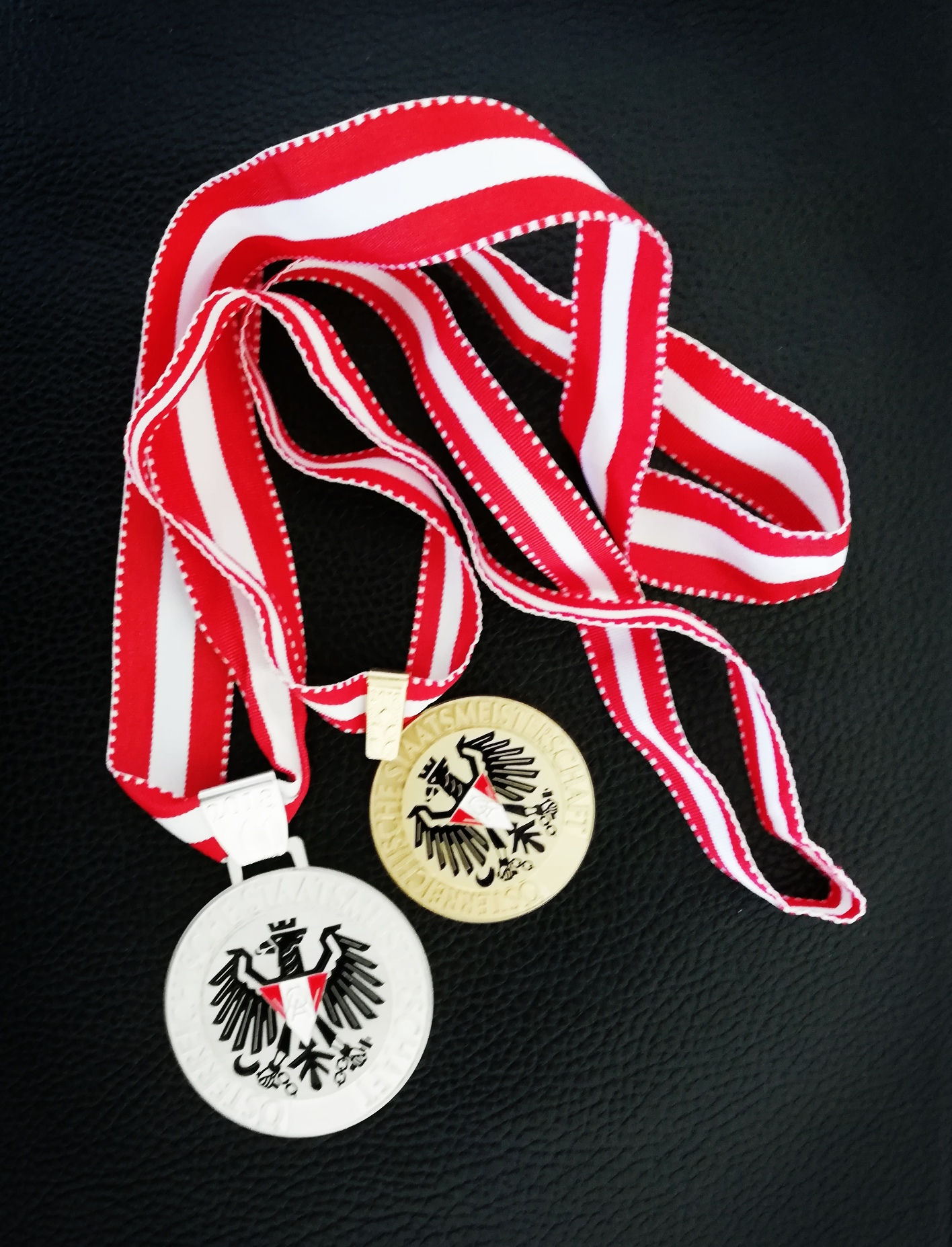 - I am very happy about Silver and Bronze at the