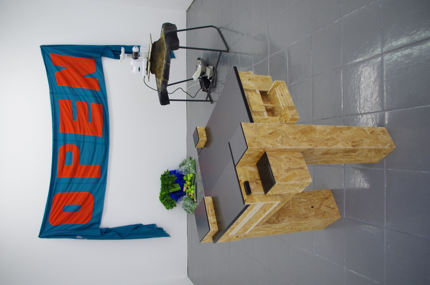 Open School East, installation view at PEER, 2014
