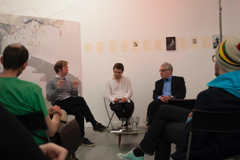 Discussion between JJ Charlesworth, Andro Semeiko and Zinovy Zinik, April 2013.