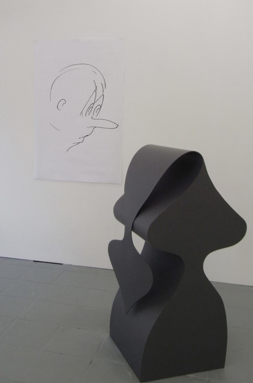 Sam Porritt, Baghdad, 2005. Installation view at PEER.