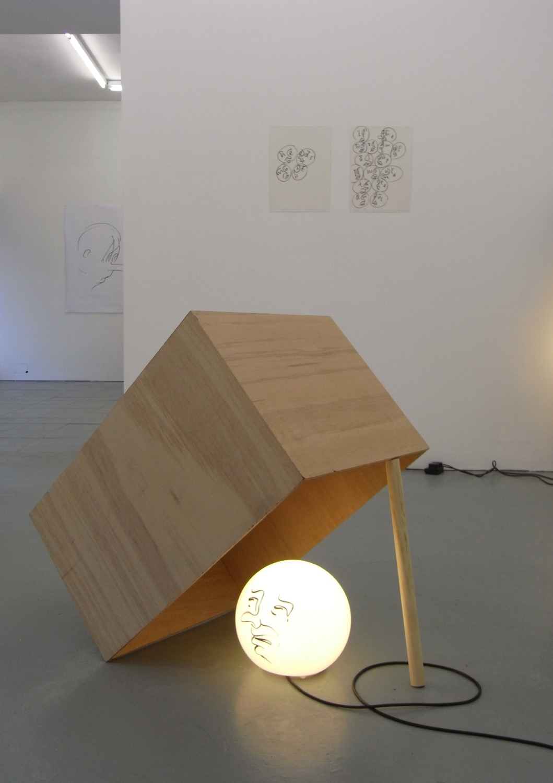 Sam Porritt, Escape? Escape!, 2009. Installation view at PEER.