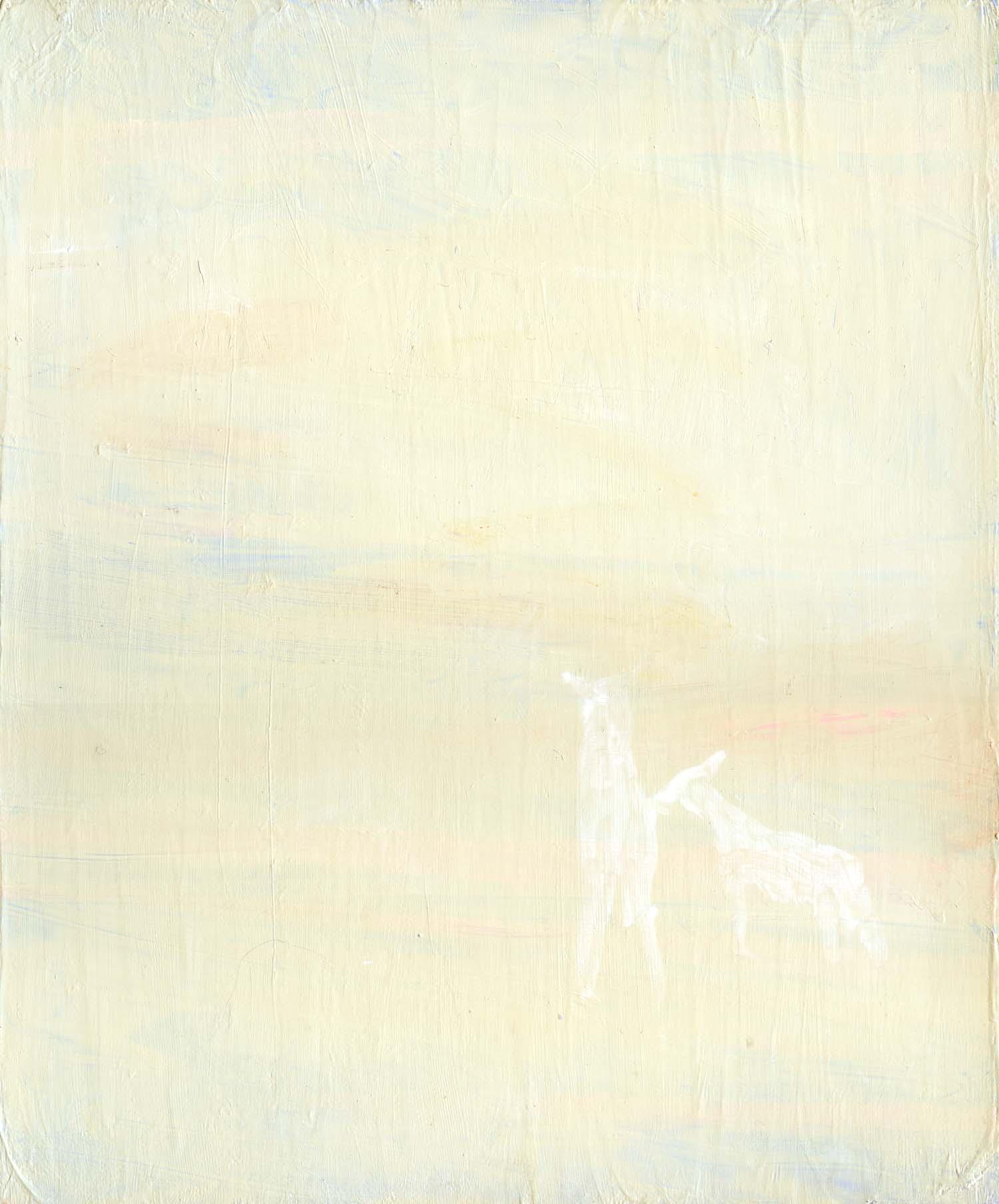 Cloudspotter , 2008 30.5 x 25.5 cm oil on canvas