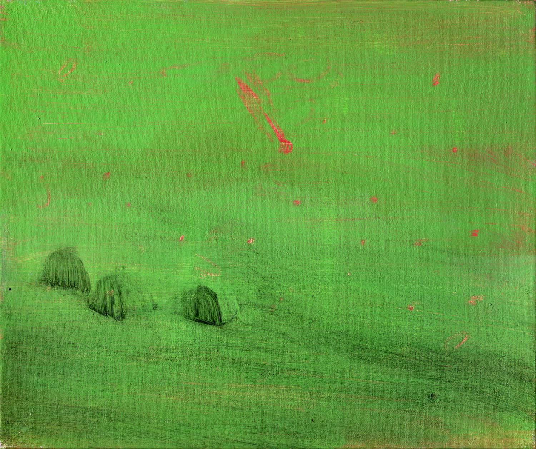 Comet , 2008 20 x 24 cm oil on canvas