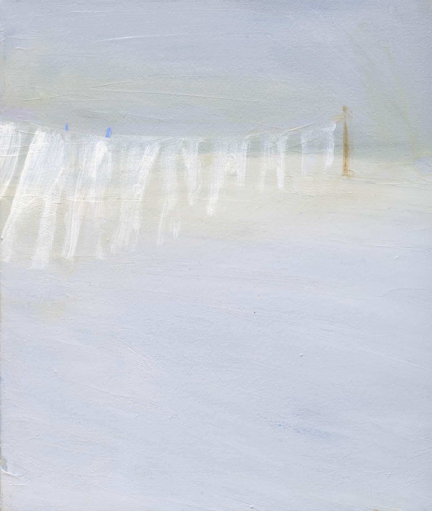 Ghostline, 2008 26.5 x 23 cm oil on canvas
