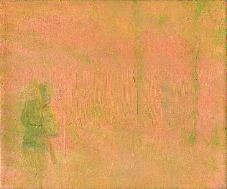 Hunter, 2008 19.5 x 24 cm oil on canvas