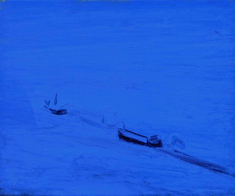 Icebreaker, 2008 26 x 30.5 cm oil on canvas