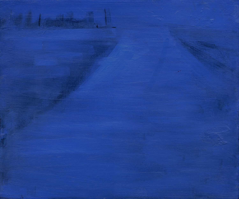 Runway , 2008 26 x 31 cm oil on canvas