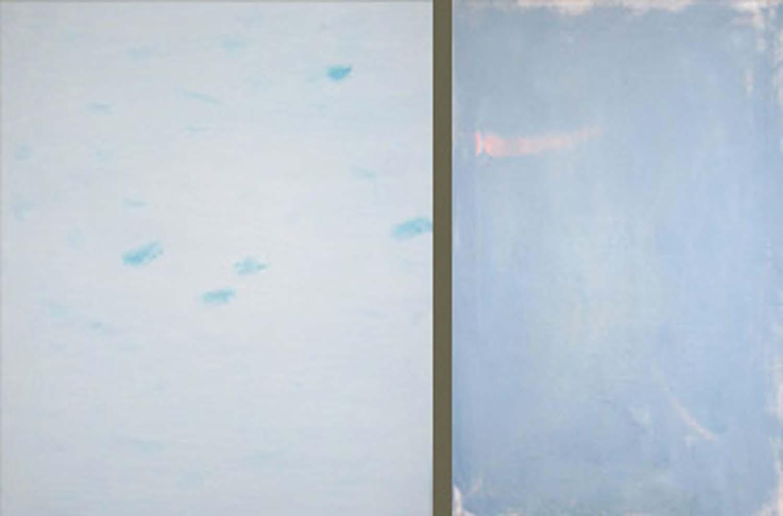 Left: Oblaka (Greenland), 2003; Right:  Oblaka (Blue), 2003