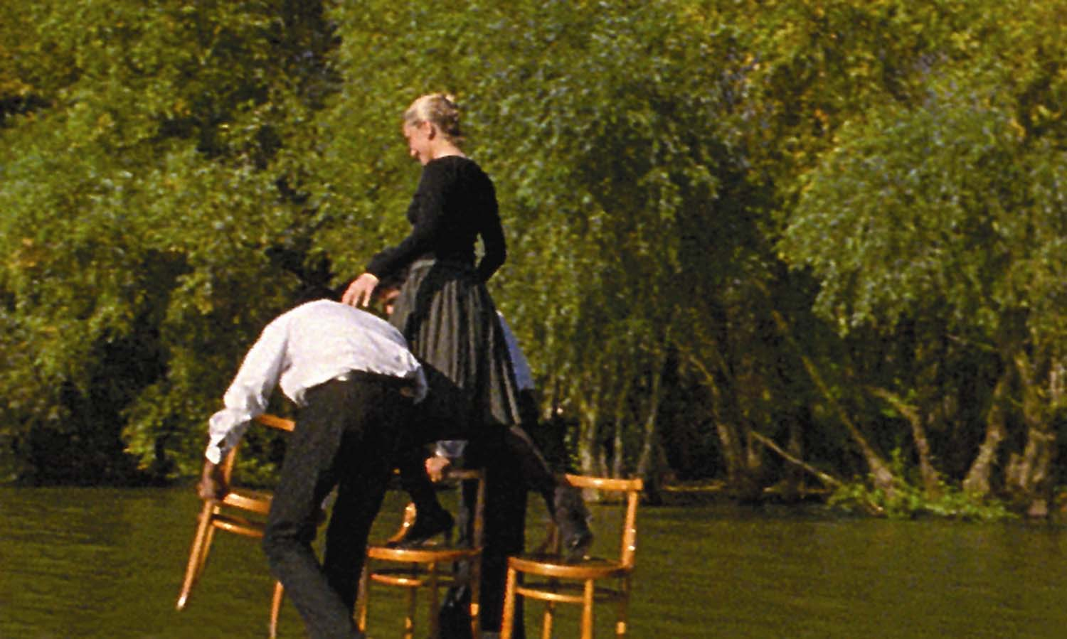 Breda Beban, Walk of the Three Chairs, 2003. Commissioned by Film and Video Umbrella / John Hansard Gallery. Supported by the National Touring Programme of Arts Council England.