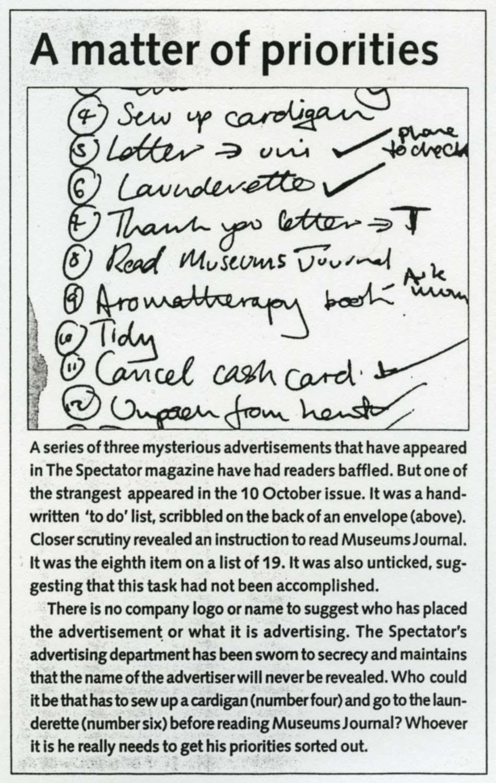 Gilian Breeze, The Spectator, 10 Oct 1998
