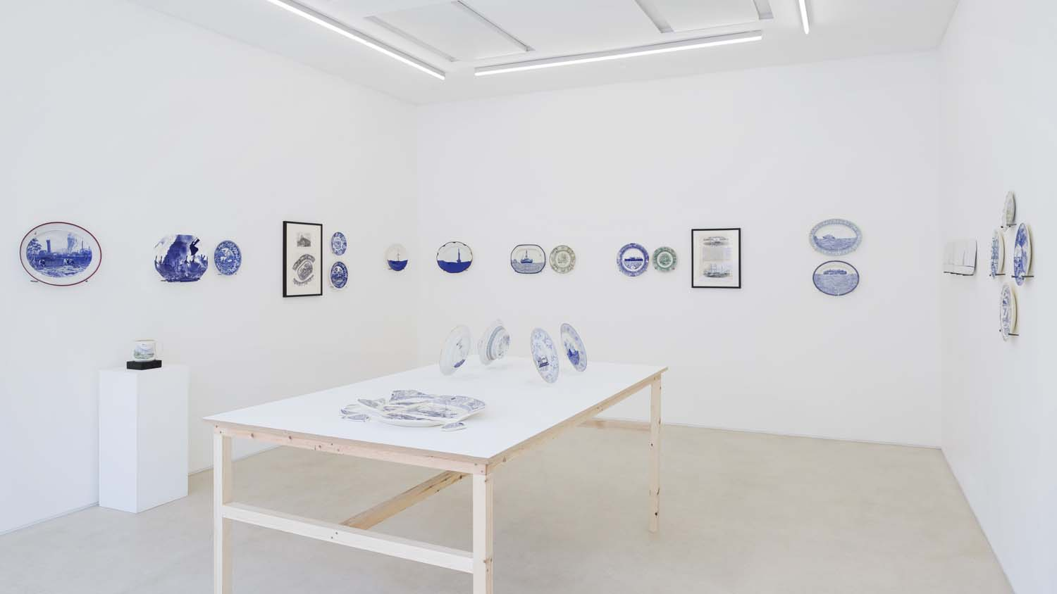 Gallery 2, installation view: Paul Scott,  Home Truths . Photography Ollie Hammick