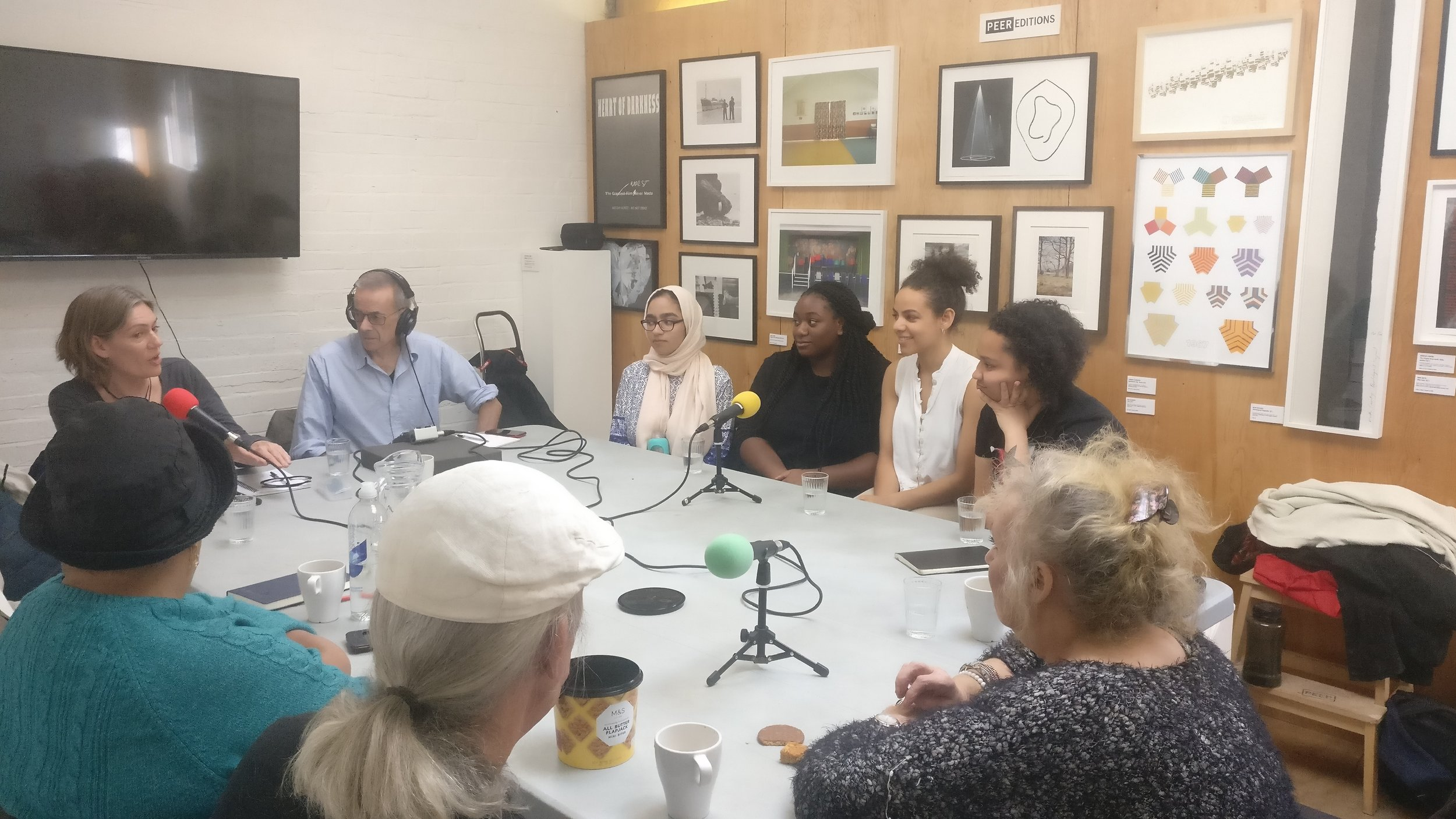 PEER Ambassador podcast with Hello Hackney group
