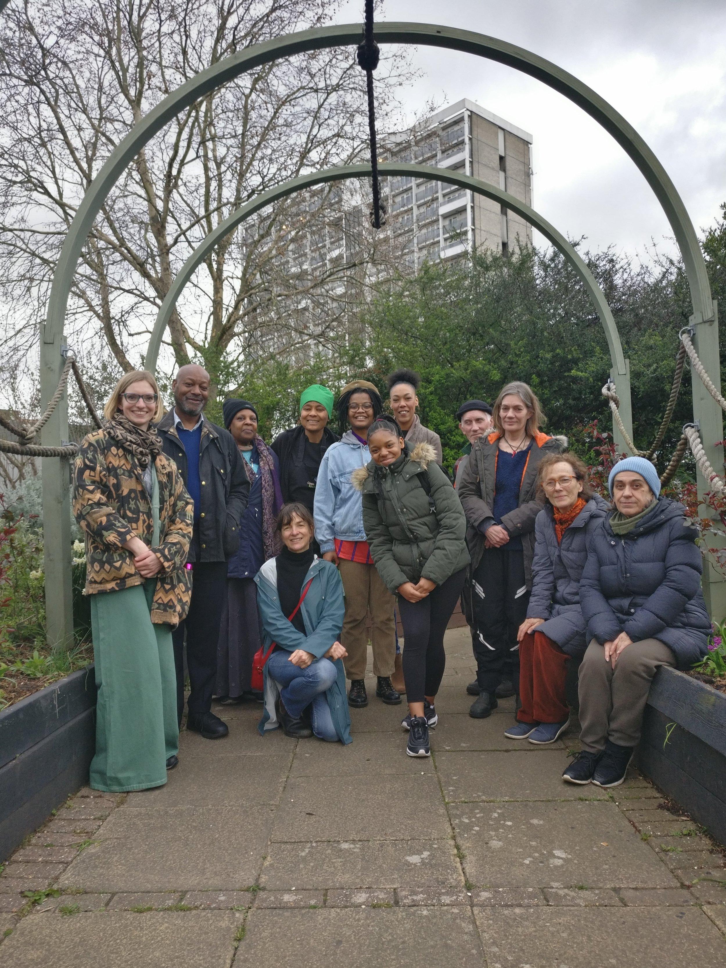 St Mary's Secret Garden Workshop
