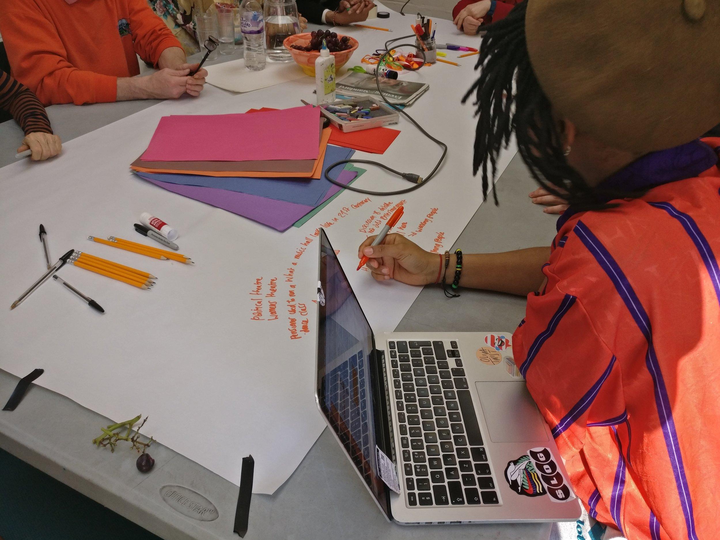 Art Workshop with Artist Olivia Mathurin