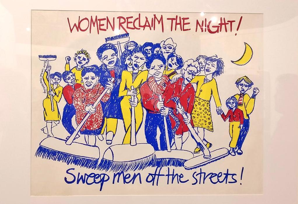 Women reclaim the night