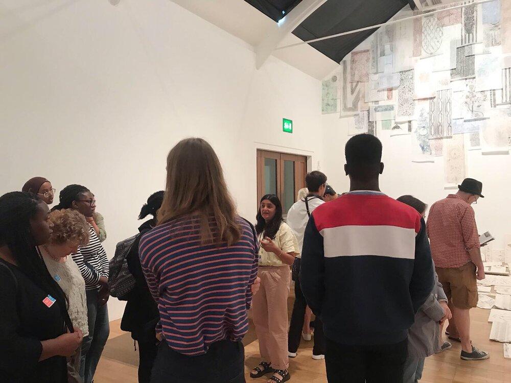 PEER Ambassador gallery visit to Whitechapel and Tate