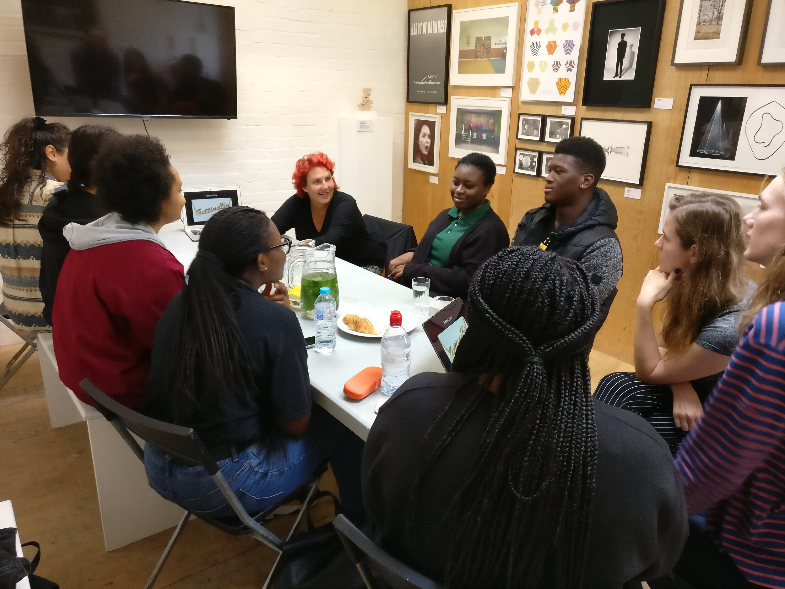 PEER Ambassadors and PEER Notices artist Rebecca Moss in conversation with Dr Lisa McKenzie.