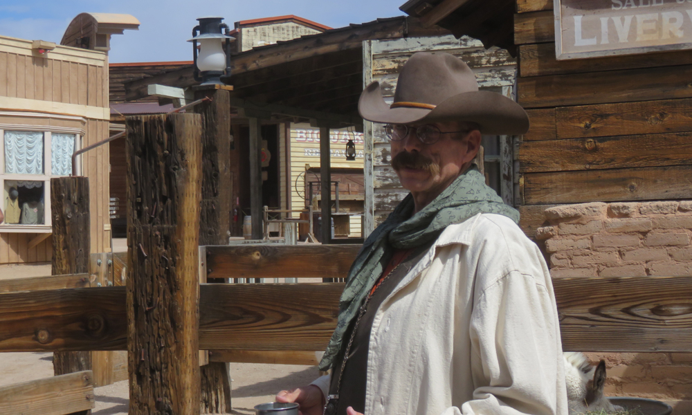 Paikallisopas Old Tucsonissa