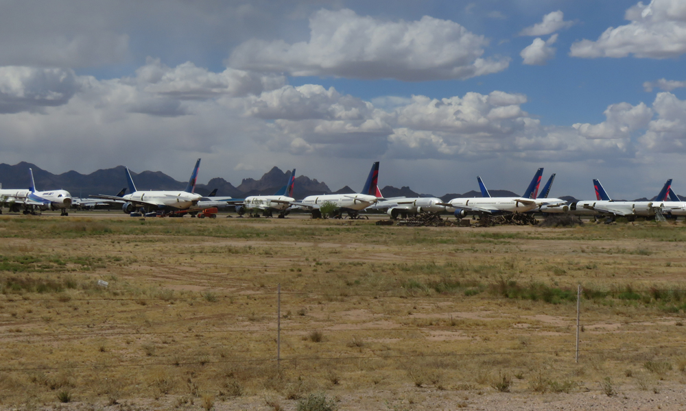 Lentokone parkkipaikka!