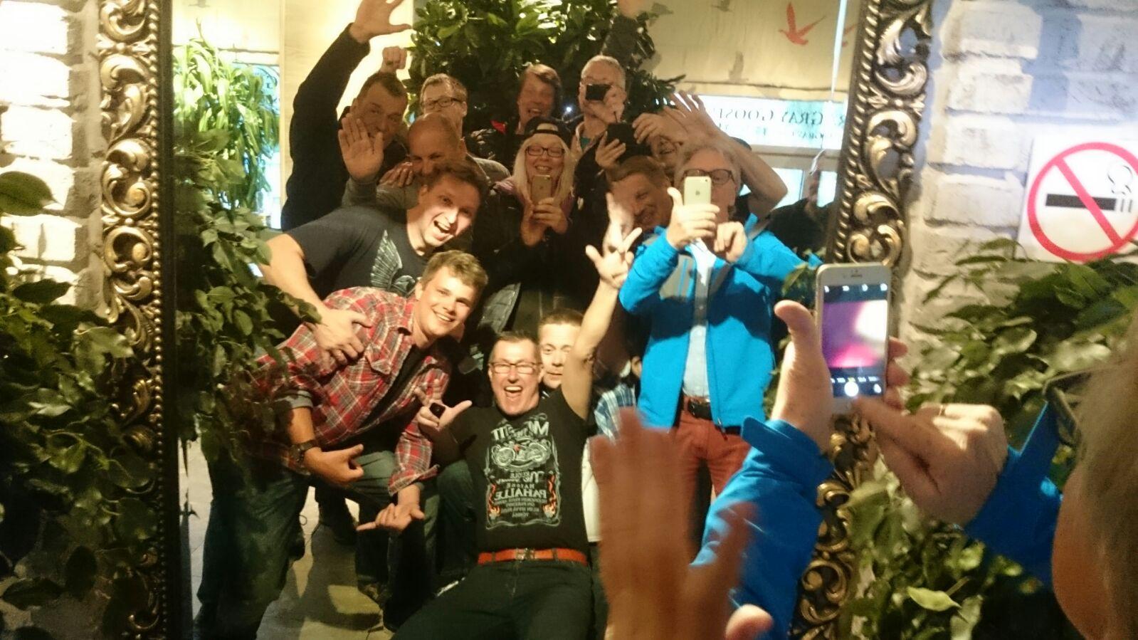 Ryhmä selfie!