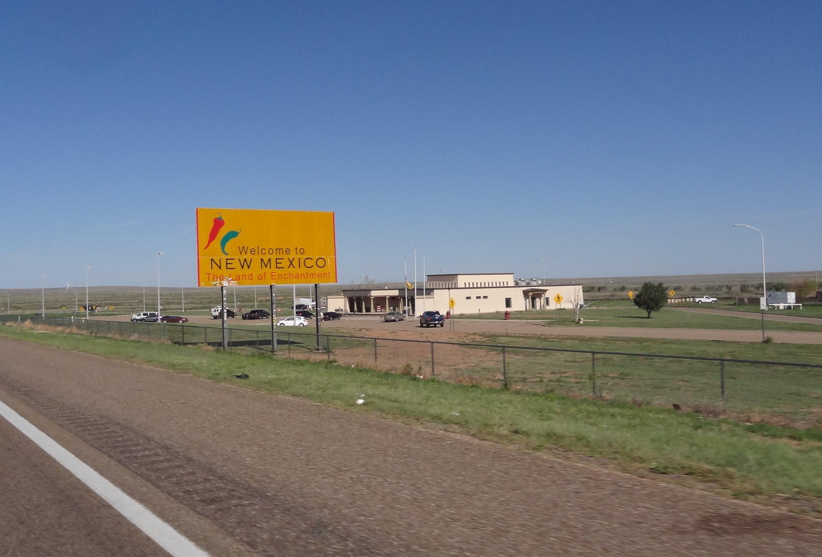 New Mexicoon saapuessamme saimme tunnin lisää, koska aikavyöhyke muuttui tunnilla kauemmas Suomen ajasta (aikaero nyt 9 tuntia).