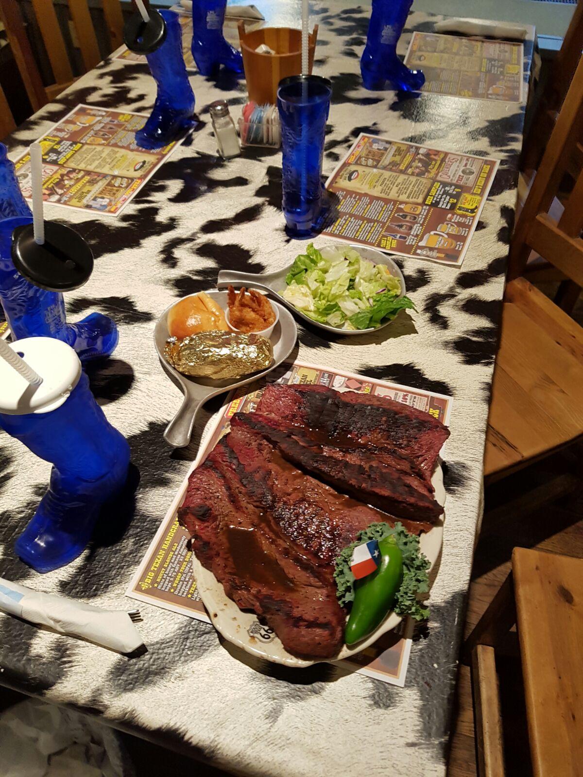 The 72oz Steak Challenge