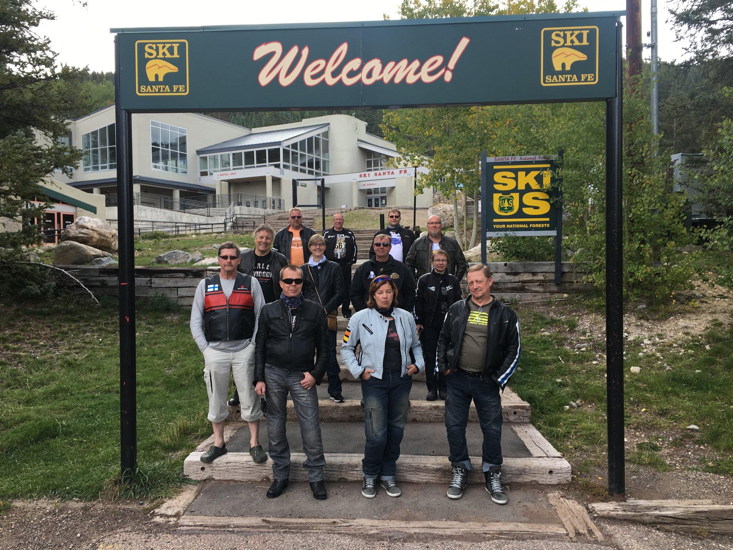 Ski Santa Fe.
