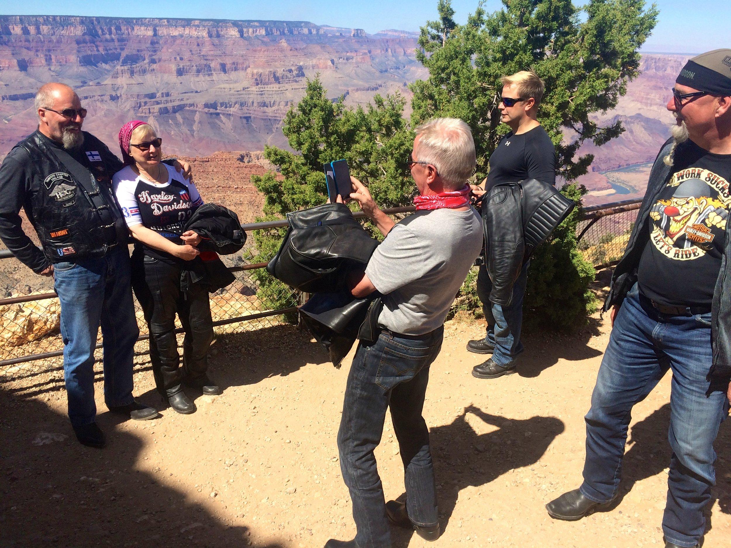 Muistikortit alkavat täyttymään Grand Canyonilla :)