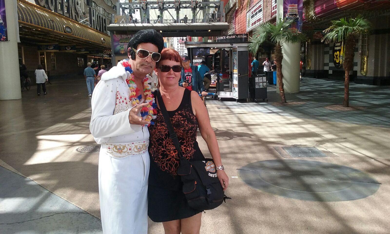 Elvis ja Teija.