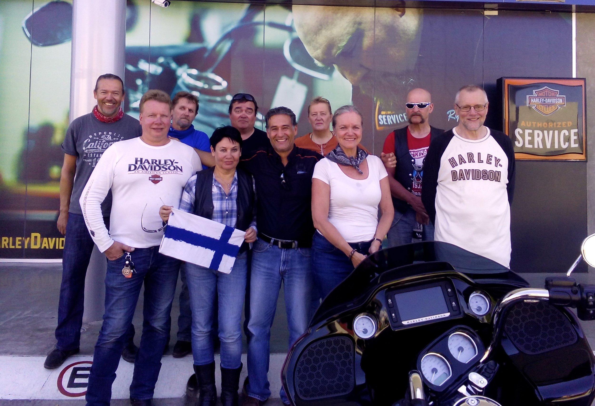 Culiacanin HD-pomo Luis Soltero ja harvinaiset vieraat kaukaa pohjolasta :)