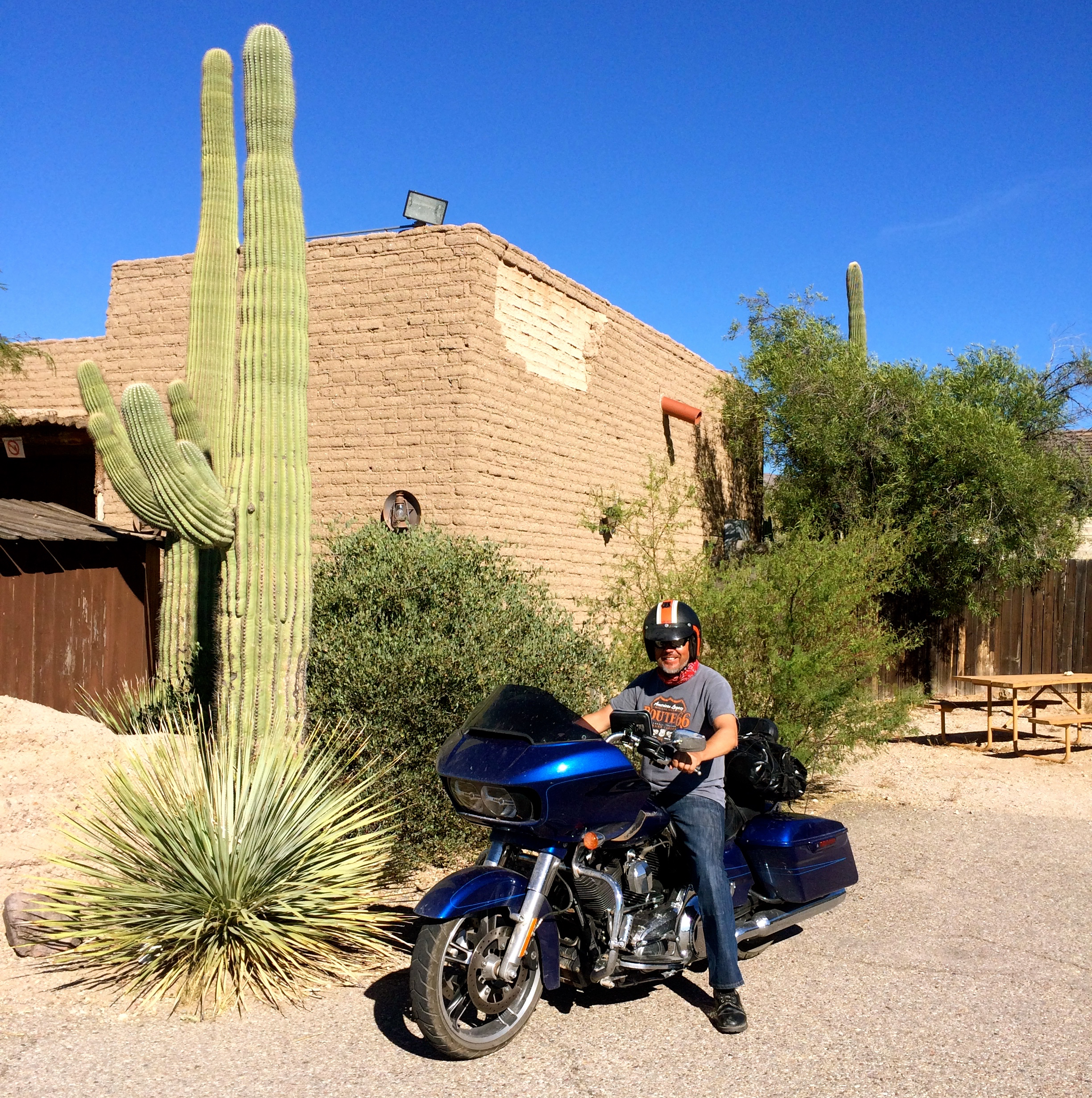 Pekka, Old Tucson, Arizona.