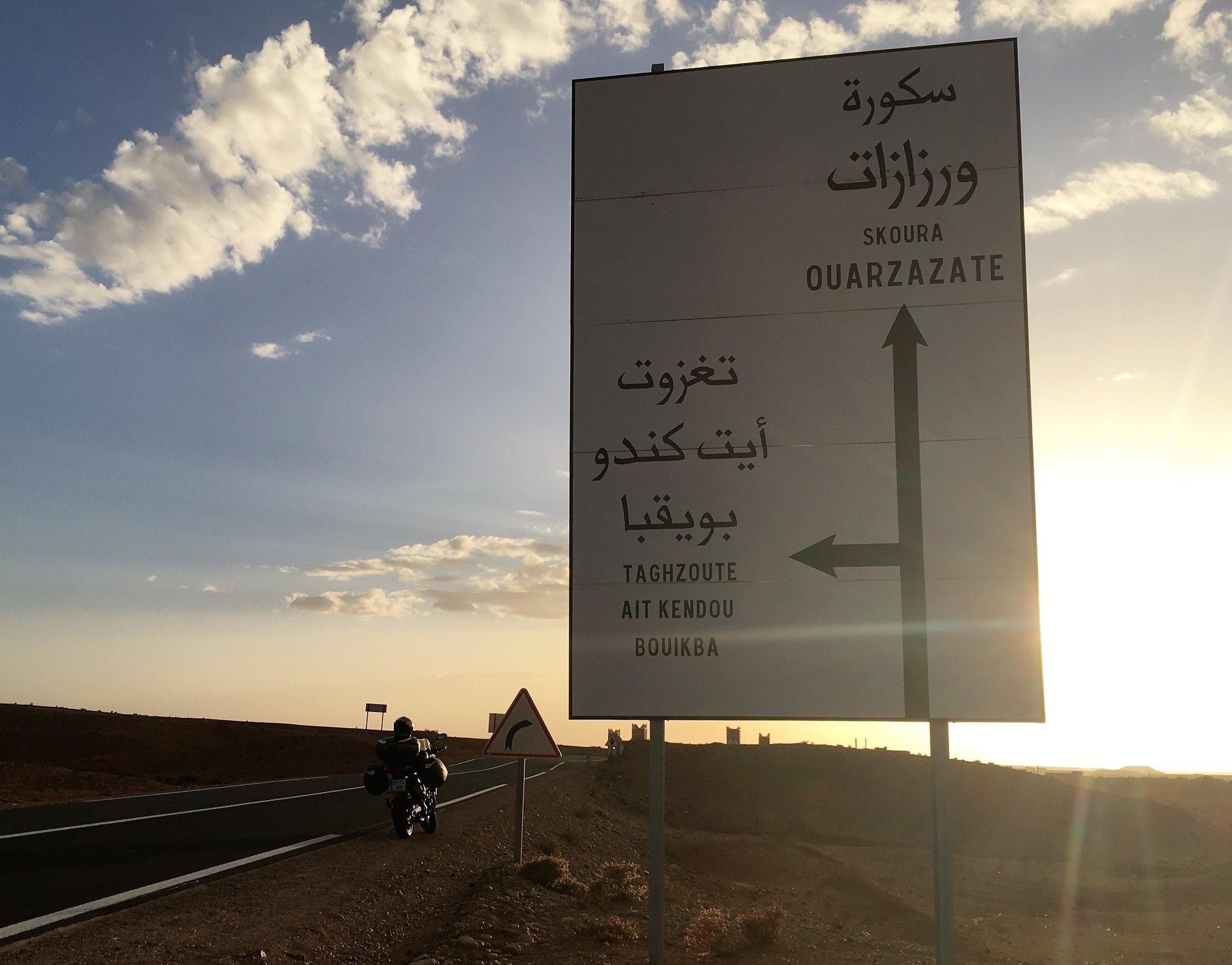 """Päämääränä tänään Ouarzazate eli """"Aavikon portti"""""""