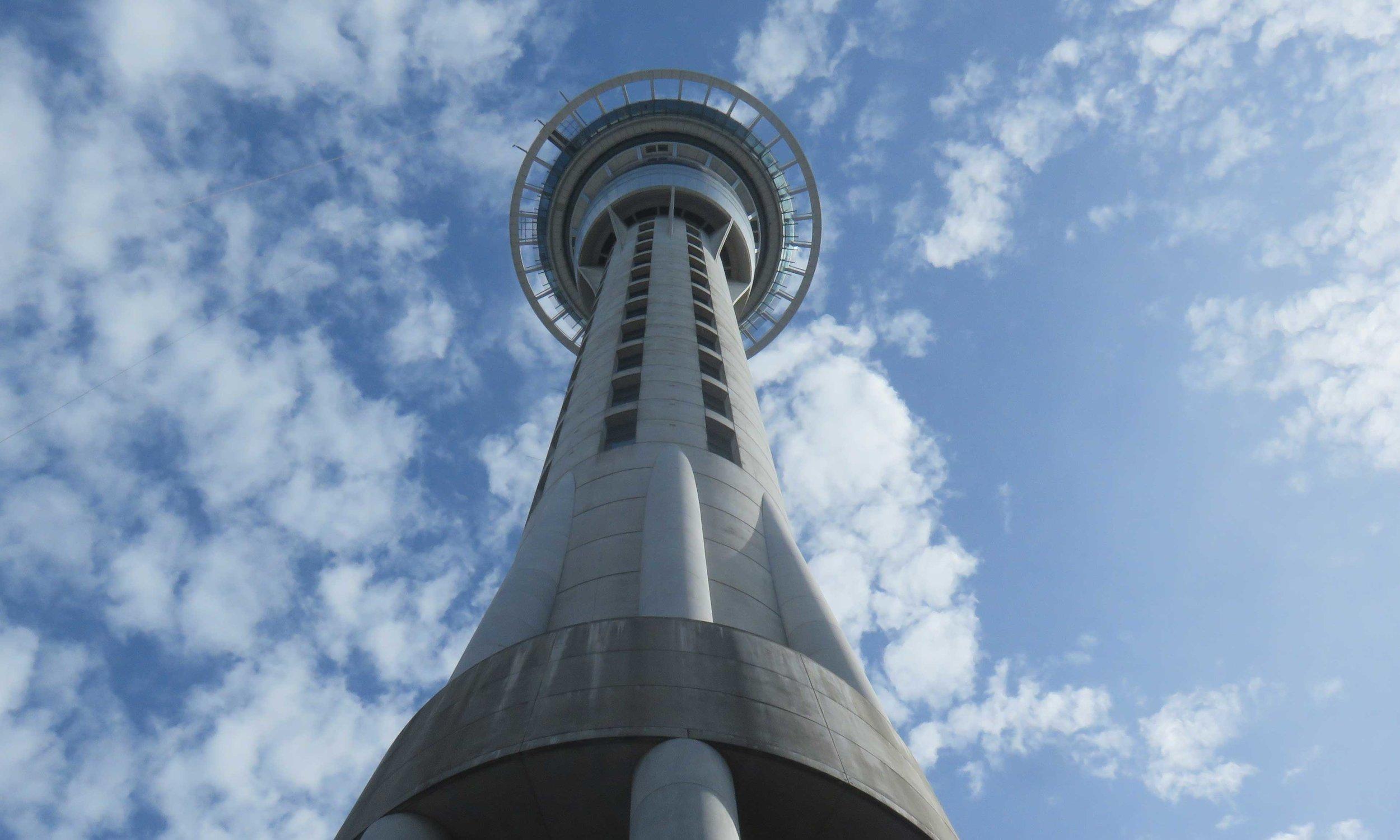 Sky City Tower Aucklandin keskustassa!
