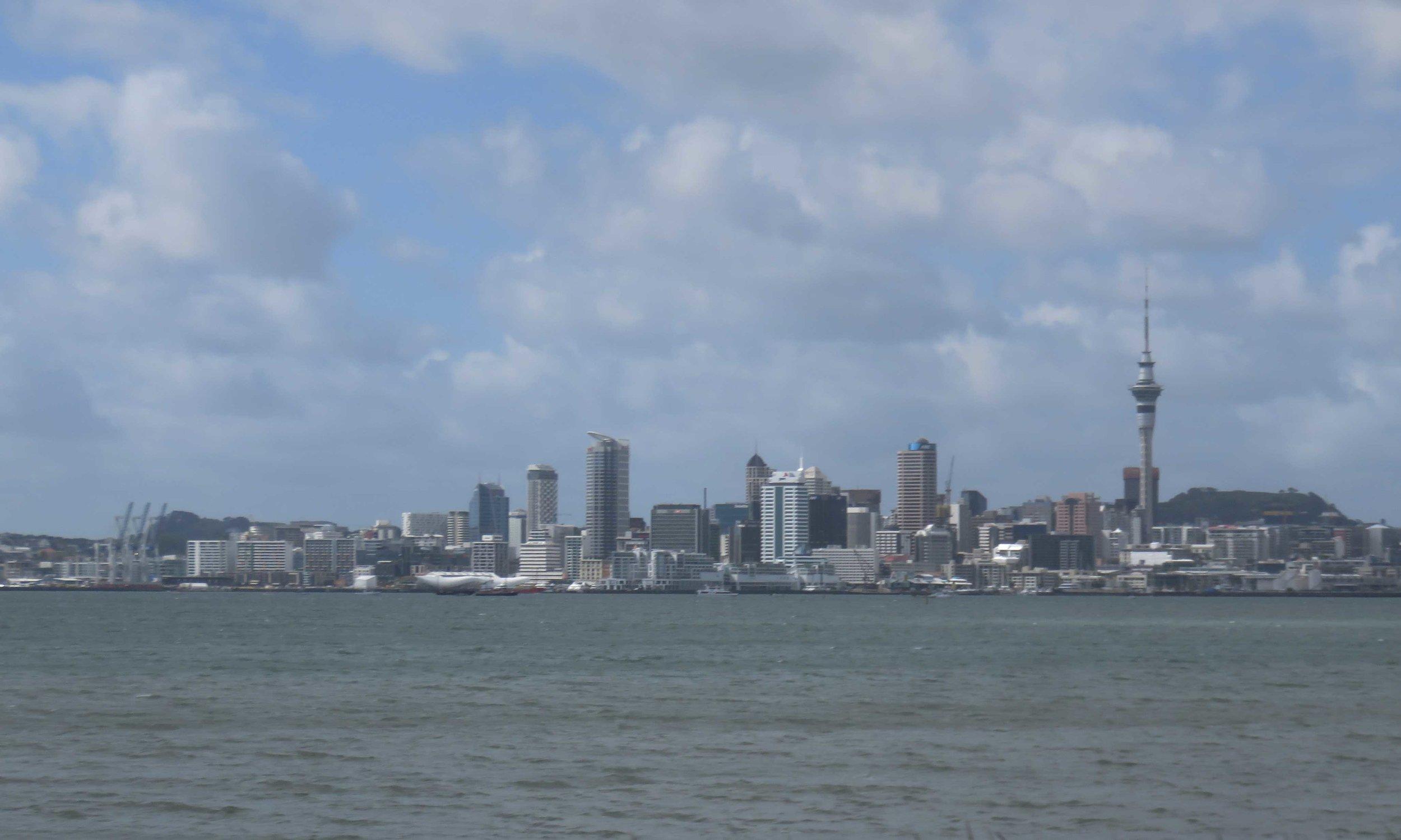 Auckland Highway 1'tä katsottuna!