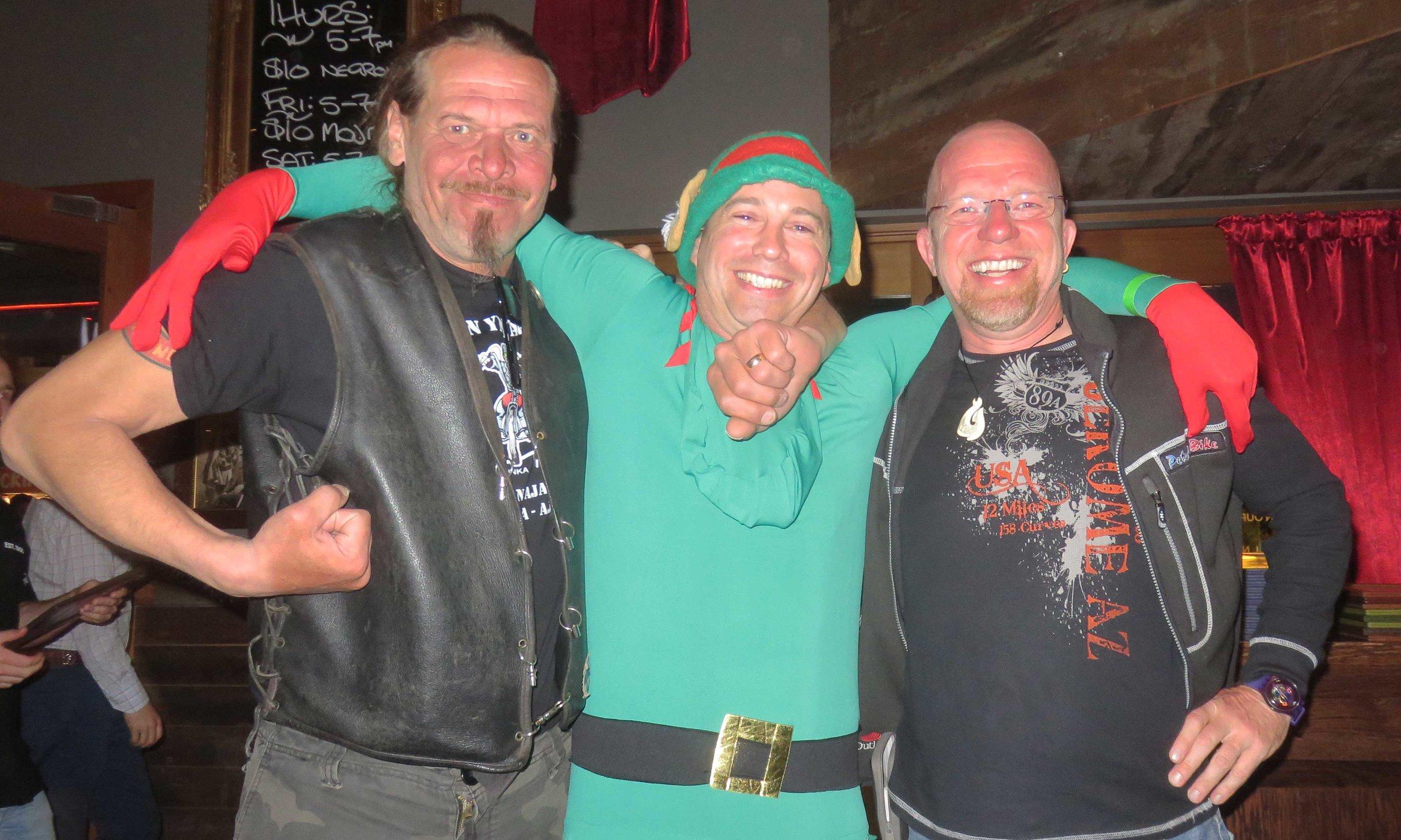 Chief Pekka, PeterPan NZ ja PeterPan FIN Casa Publicassa päättäripäivällisellä!