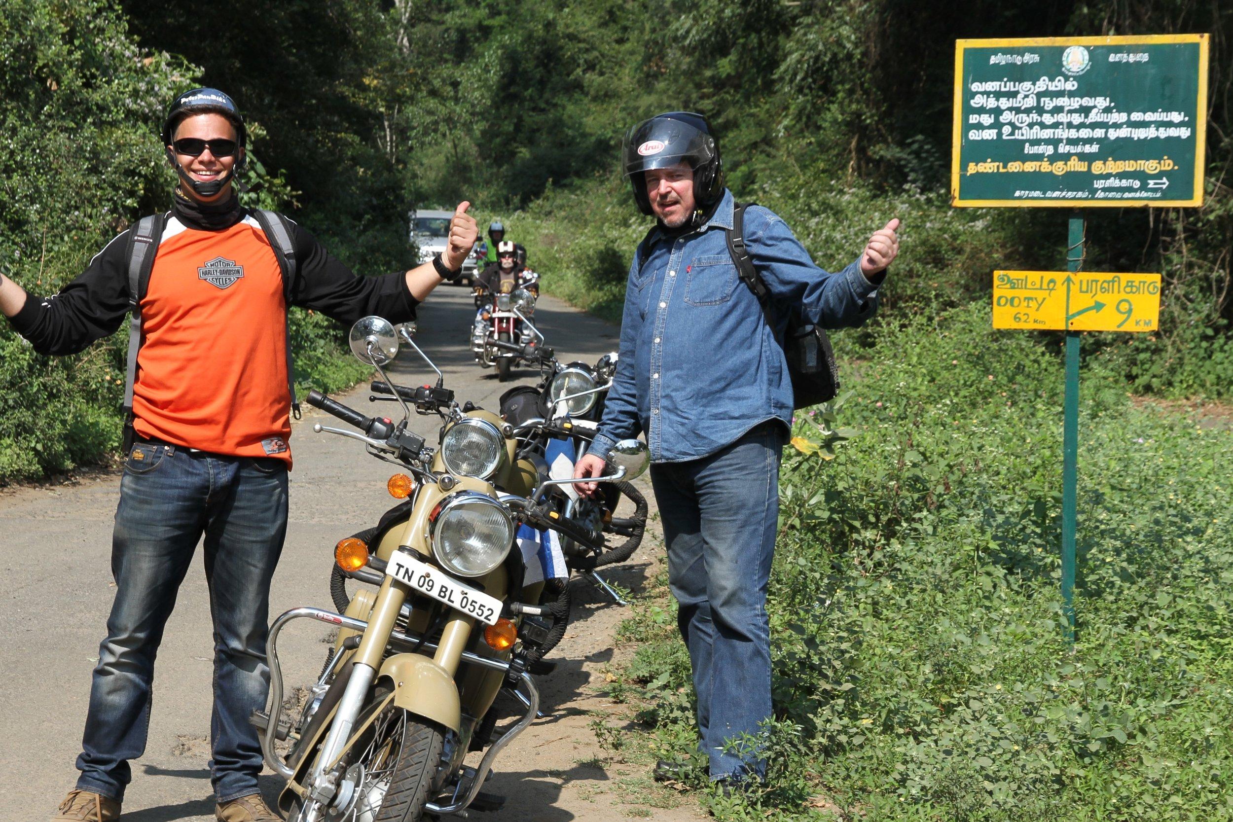 Jossain päin Etelä-Intiaa :)