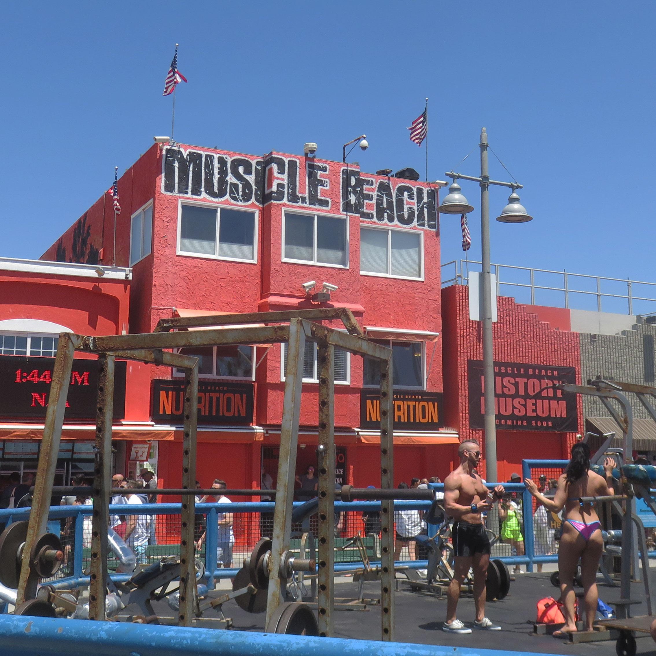 ... Muscle Beach ...