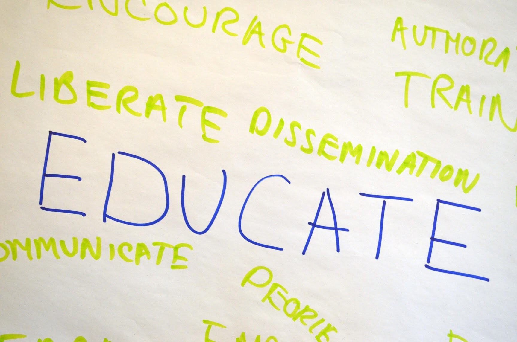 Leaders reflect upon what it means to educate others.
