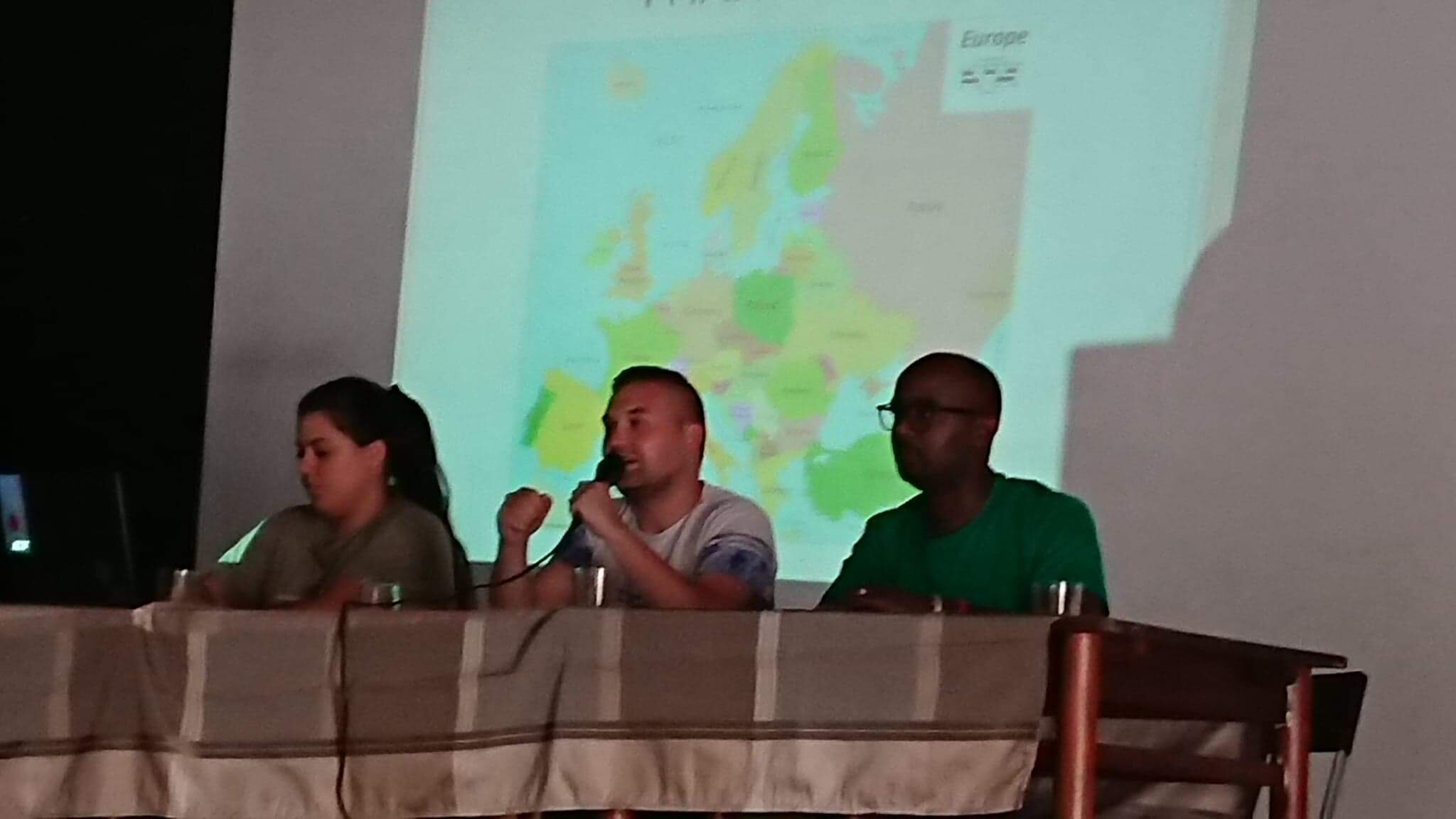 YCW National President Marc giving report on the activities of the European Commission.jpeg