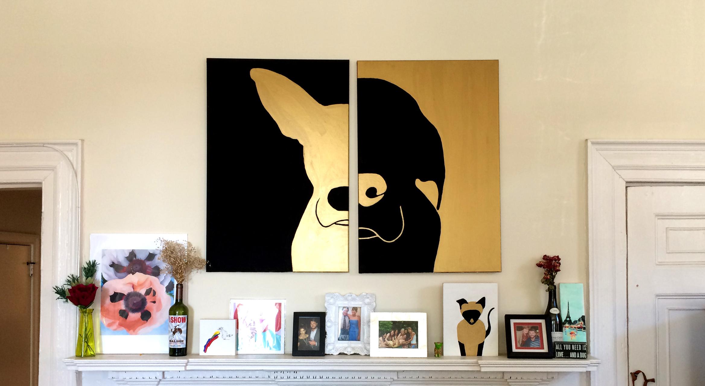 Example of custom Pet Silhouettes
