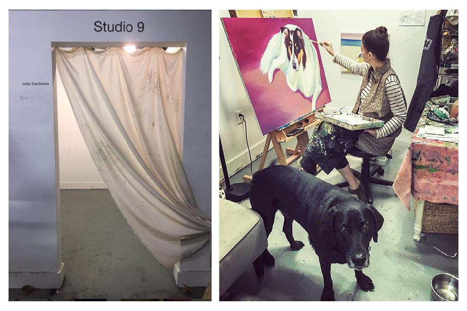 My original studio in the Redux Annex