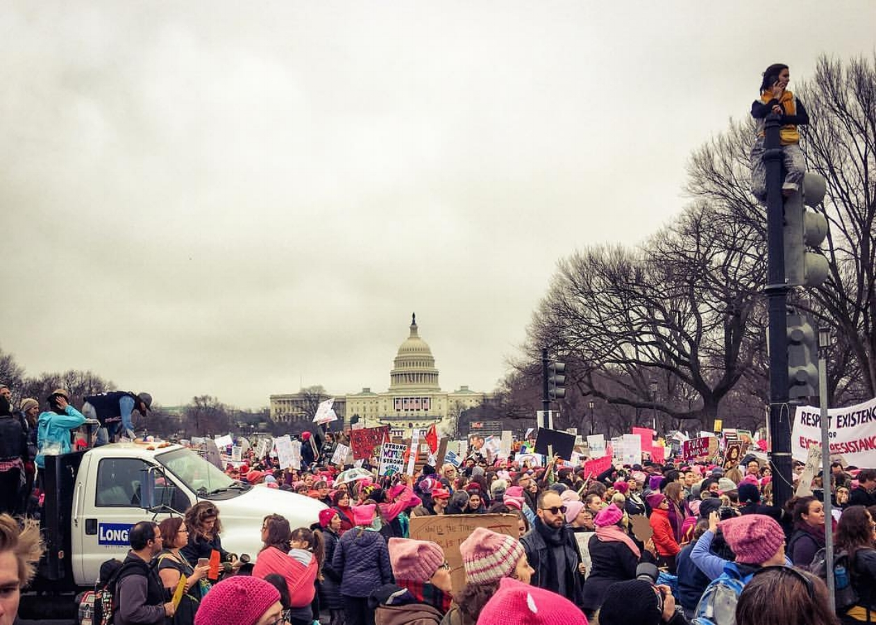 Being in DC for the women's march this past January was the best decision I made all year. I am so glad to have witnessed and heard with my own eyes and ears.