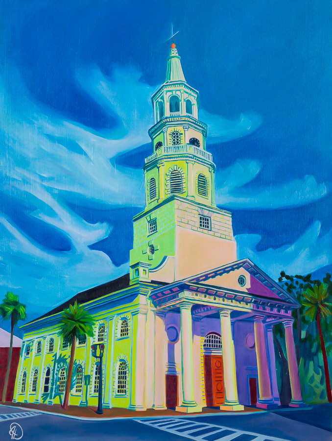 st michaels church, 18x24, oil on panel, 2018.JPG