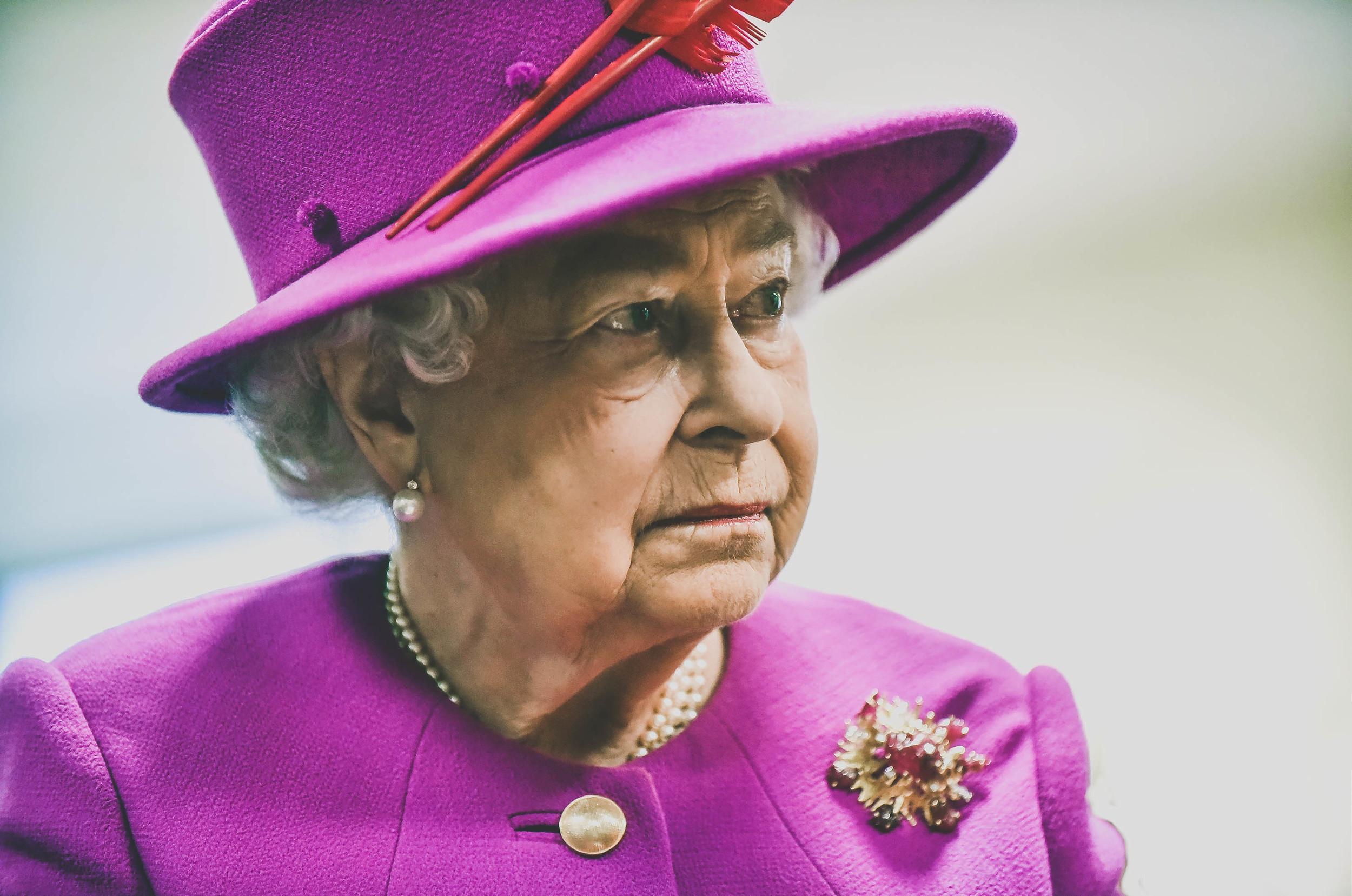 Portrait of HRH Queen Elizabeth in Gloucester