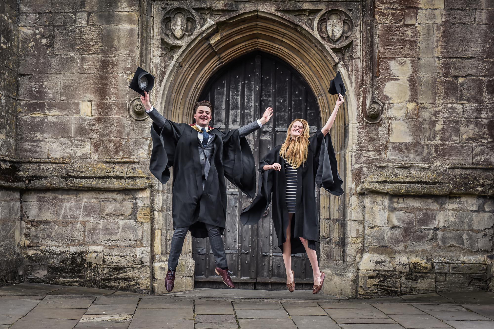 PR Photograph University Graduation Celebrations in Cirencester
