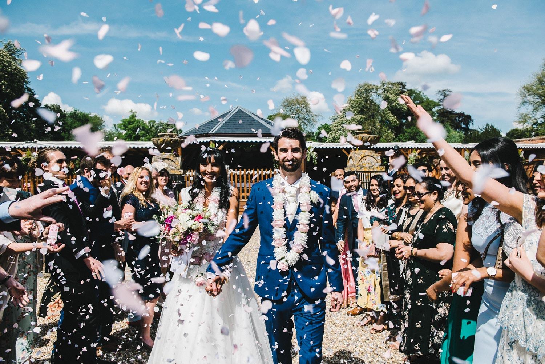 ORCHARDLEIGH WALLED GARDEN WEDDING