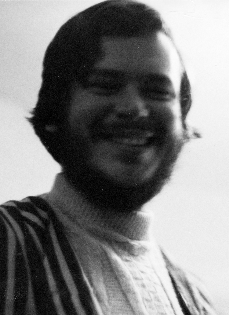 Jim as a student at Notre Dame.
