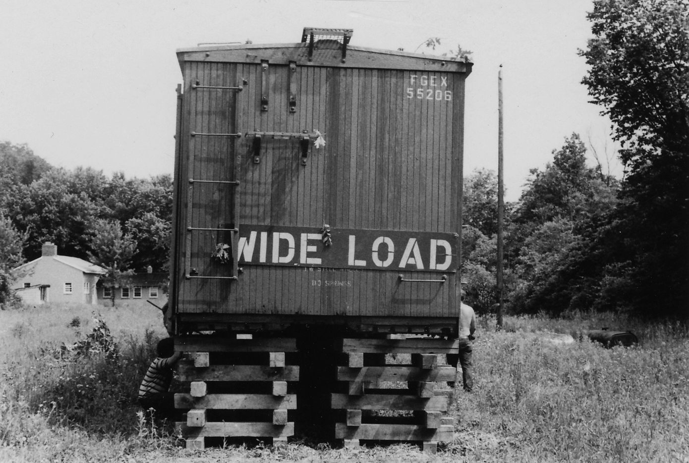 Jim and his family moved to the Shenandoah Valley in 1970 and set up housekeeping in a group of 1920s era boxcars along with two other families.
