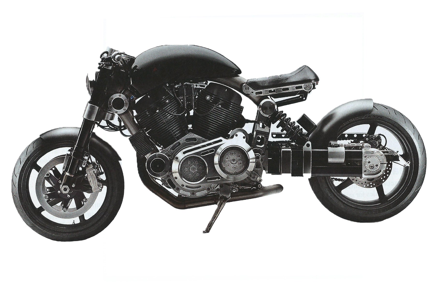 Confederate X132 Hellcat  Image:  Men's Journal , September 2012