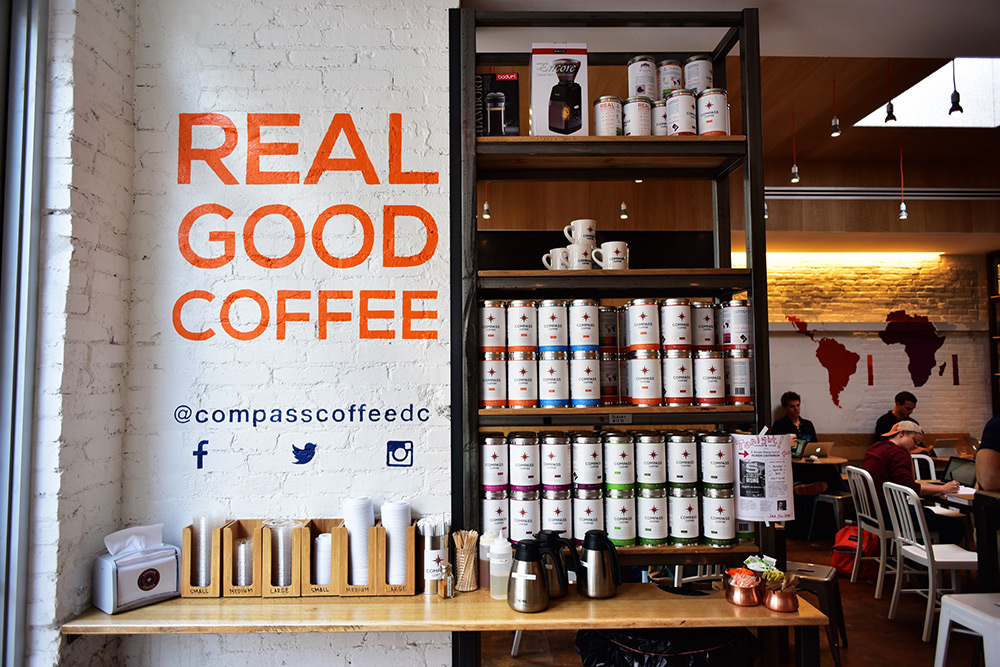 Compass Coffee , Washington DC